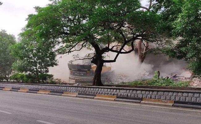 Any treasure under Telangana secretariat buildings?