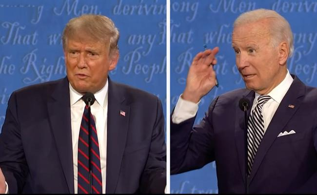 Mute button, masks headline final Trump, Biden debate