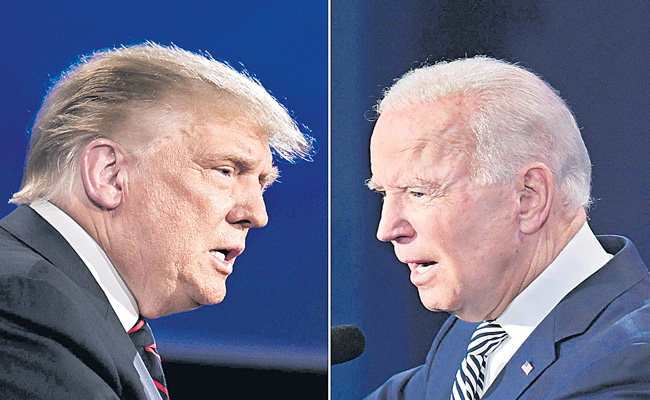 Trump projected winner in 7 states, Biden gets 8