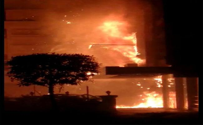 11 Dead In Fire At Hotel Used As Covid Care Facility In Vijayawada
