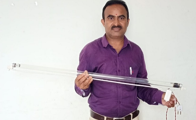 Telangana's rural innovator develops technology that claims to 'kill Covid'