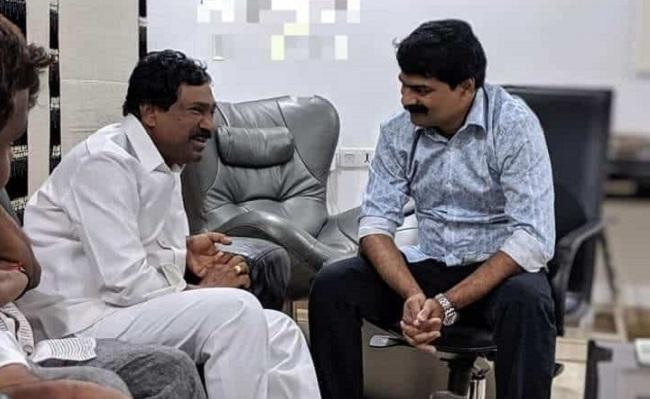 Why did TRS MLA meet Bro. Anil Kumar?