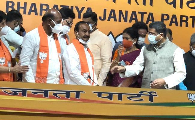 Eatala entry into BJP a lack-lustre affair!