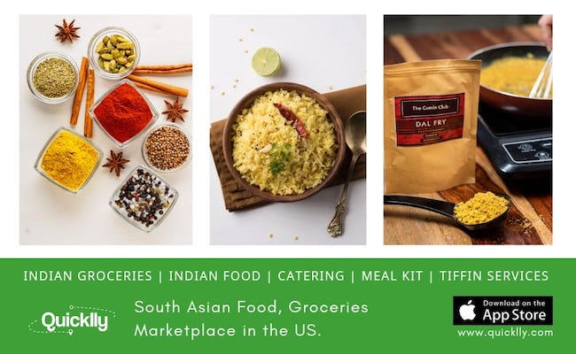 Quicklly - Marketplace for Indian Food & Grocery USA