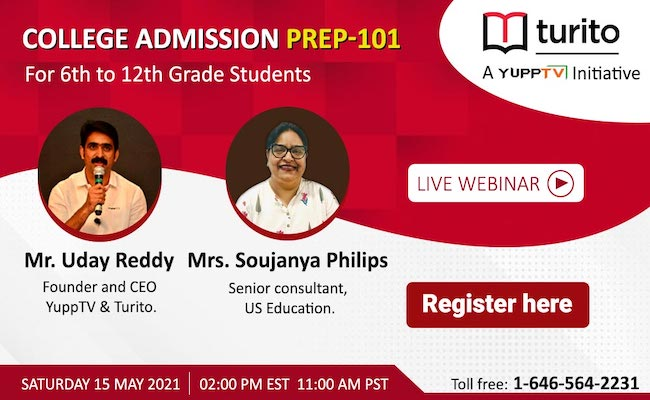 College Admissions Prep 101: A Webinar with an Edge