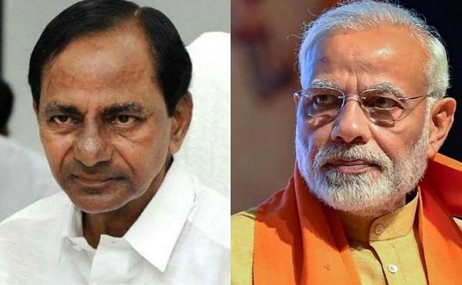 KCR Trying To Be In Modi's Good Books?