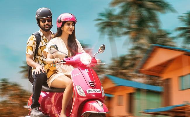Pic Talk: Nithiin's Romantic Ride With Nabha