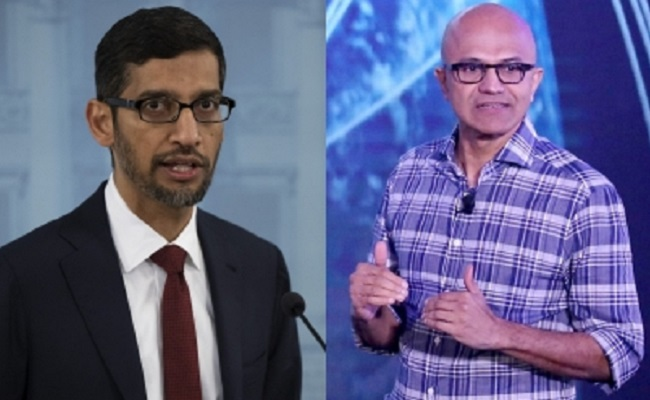 Nadella, Pichai boost Indian tech prowess on world map