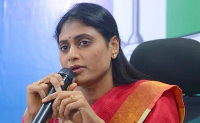 Sharmila Enters Twitter, Raps KCR