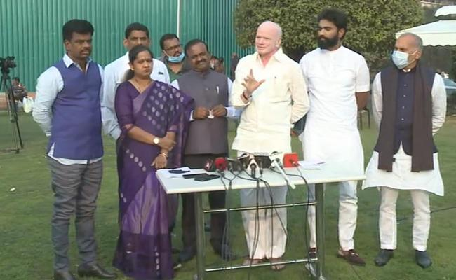 Now, YSRC MPs to complain to Shah against TDP
