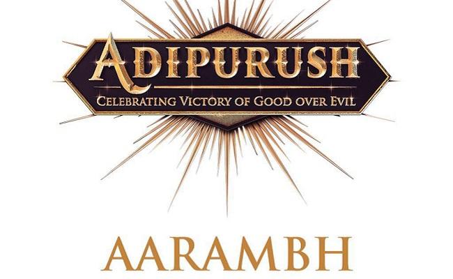 Prabhas's Adipurush Launched Today