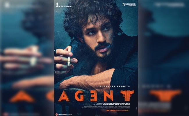 Agent 1st Look: Akhil Looks Totally Badass