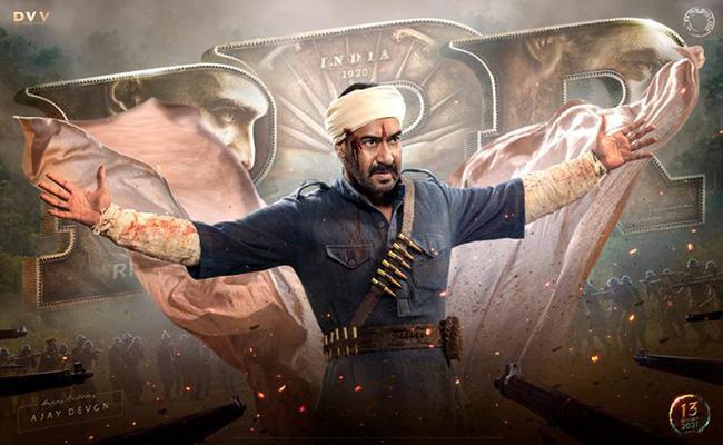 Ajay Devgn looks intense as a freedom fighter in RRR