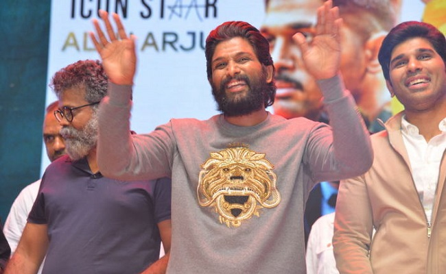 Allu Arjun is Now Icon Star, not a Stylish Star!