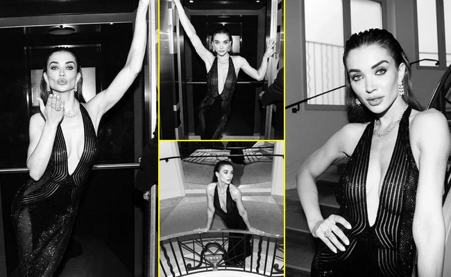 Pics: Colorful Actress In Black And White