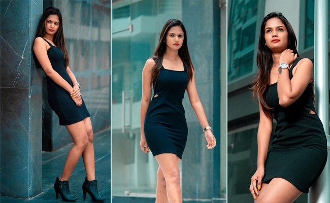 Pics: Ariyana Spells Glory With Her Costume