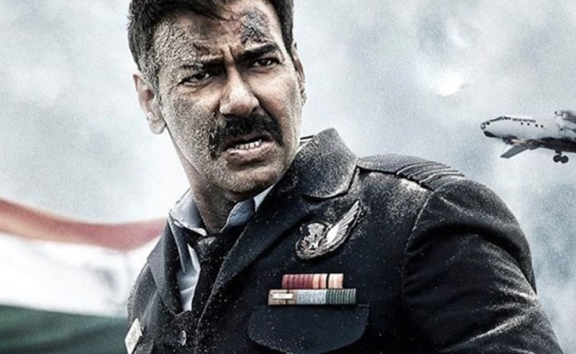 Bhuj Movie Review: Lacklustre ode to unsung warriors