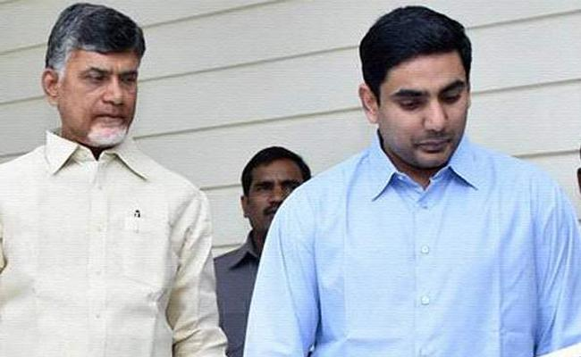 TDP Leaders Insulted Babu And Son With Silence