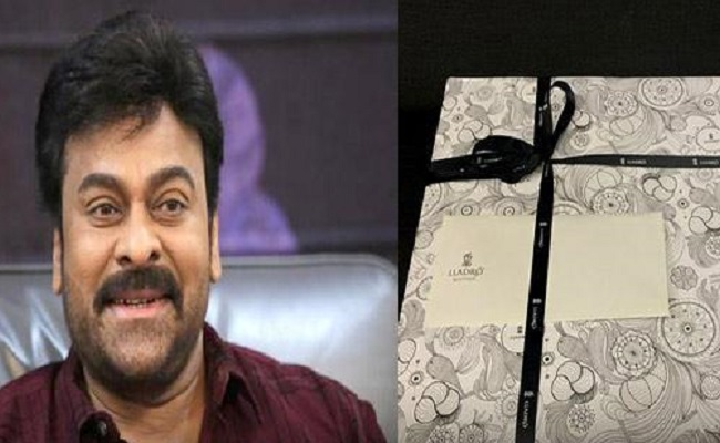 Uppena: Chiranjeevi Sends Gift Hampers