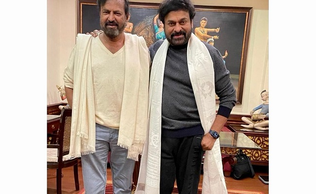 Chiranjeevi and Mohan Babu's Quick Trip Together