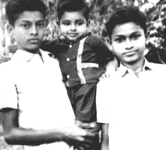 Pic Talk: Megastar with His Blood Brothers