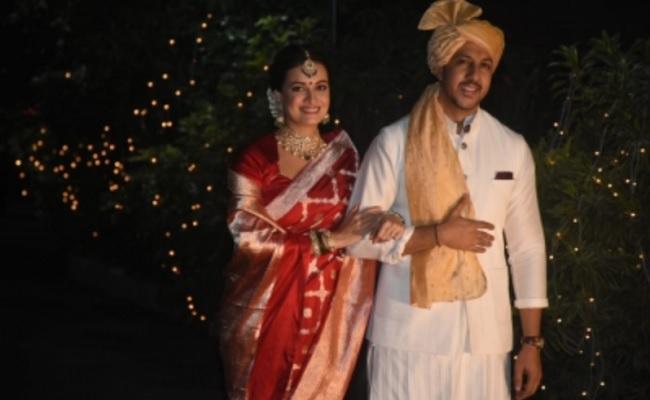 Dia Mirza ties the knot with entrepreneur Vaibhav Rekhi