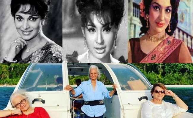 Pic: 'Dil Chahta Hai' With Older Heroines.. - Greatandhra.com