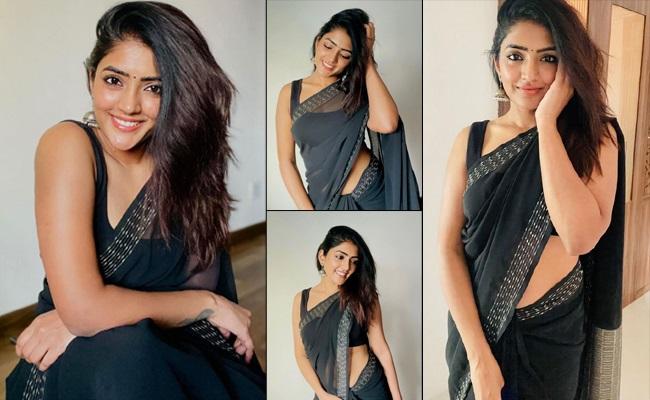Pics: Warangal Beauty In Tempting Saree Look