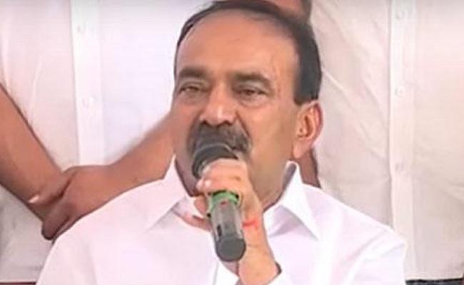 Eatala Rajender quits Telangana Assembly, TRS