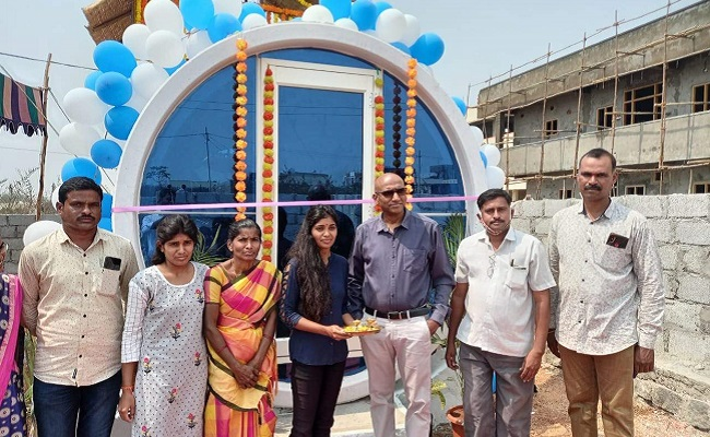 T'gana girl designs low-cost housing solution for poor