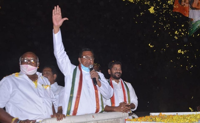 Cong veteran takes on 2 debutants in Nagarjuna Sagar