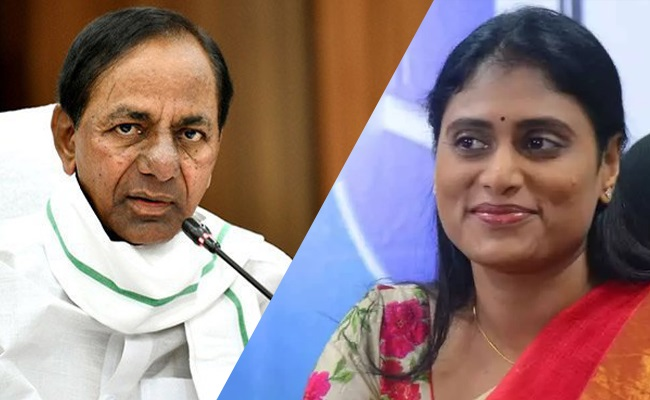 Was KCR Referring To Sharmila Party?