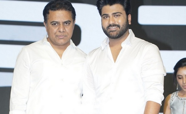 Sreekaram is a movie with a heart, will do my best for tax exemption: KTR