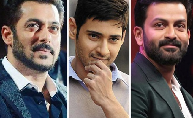 Salman, Mahesh, Prithviraj For Major