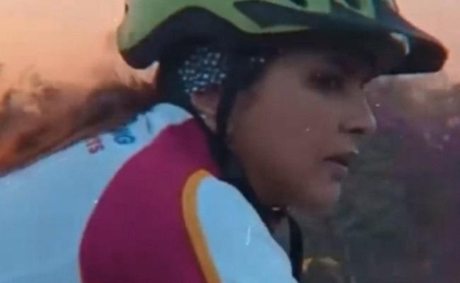 Lakshmi Manchu cycles 100 km for a cause.. - Greatandhra.com