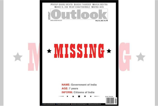 Outlook attacks Modi govt: Gets bouquets, brickbats
