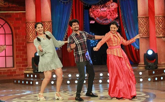 Pic Talk: Nani's Jabardasth Dance