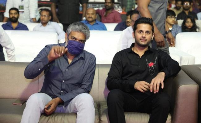 Nithiin Goes One Step Forward With Check: Rajamouli
