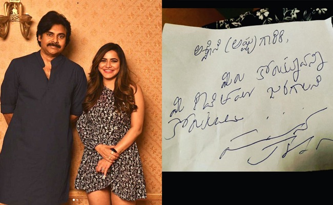 Ashu shares her fangirl moment with Pawan