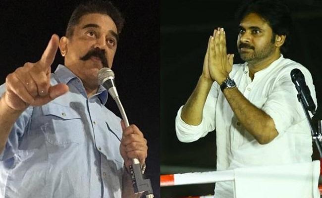 Kamal Hassan Disturbs Pawan Kalyan's Mental Peace?