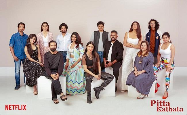 Pic Talk: Glam Divas With Pitta Kathalu Creators.. - Greatandhra.com