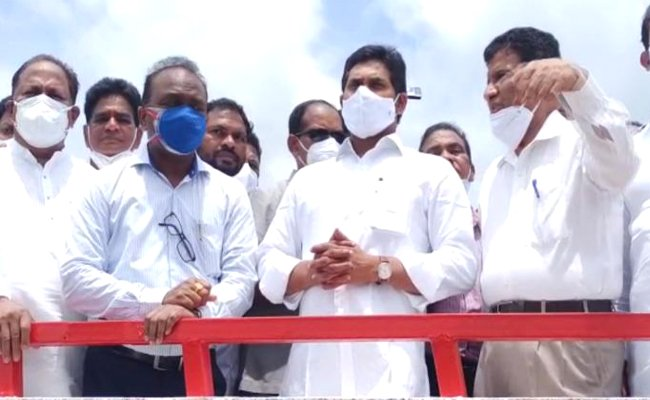Watch: Jagan Happy With Polavaram Progress