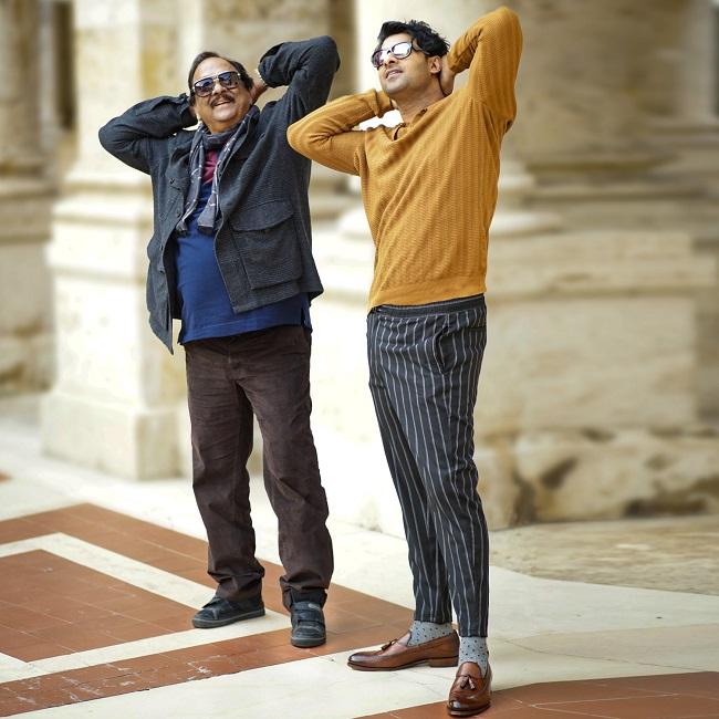 Pic: Krishnam Raju and Prabhas Groove to a Beat