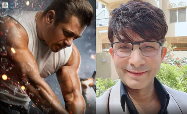 Salman Khan files defamation complaint against actor KRK for his 'Radhe' review