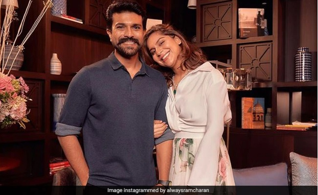 Ram Charan Exposes Deep Love For His Wife