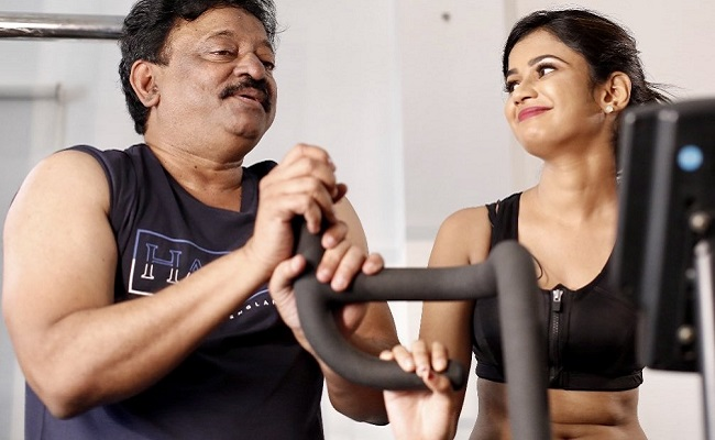 RGV Responds to Rumors about Affair with Ariyana