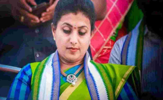 Roja Suspects Back-Stabbers In YSRC, Too!