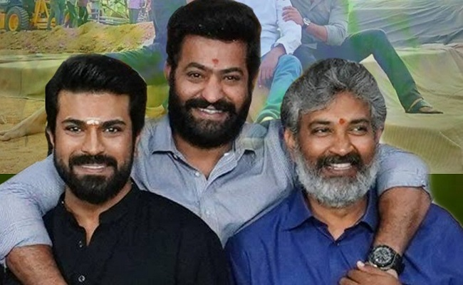 Rajamouli Keeps NTR and Charan In Tension