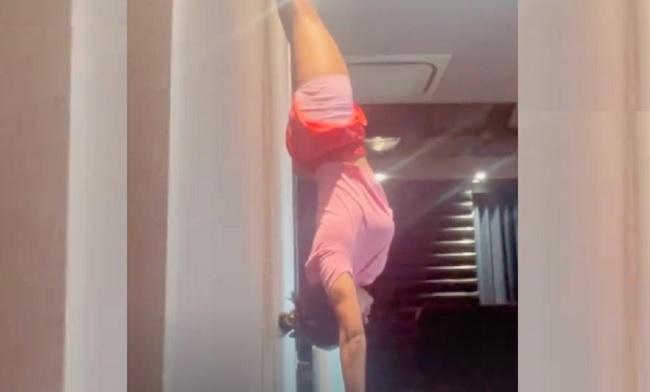 Samantha Akkineni's Headstand Video Turns Viral