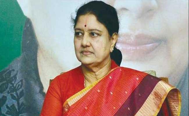 Sasikala Hints She Will Be Back In TN Politics